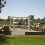 Allen Residence Pergola Construction